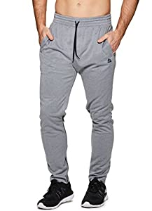 RBX Active Men's Athletic Workout Running Tapered Jogger Sweatpant