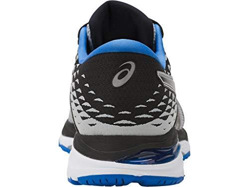 ASICS Mens Gel-Cumulus 19 Running Shoe, Grey/Black/Directoire Blue, 6 Medium US by ASICS (Image #2)