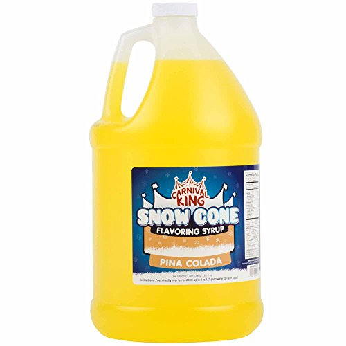 Tabletop King 1 Gallon Pina Colada Snow Cone Syrup - (Colada Syrup)