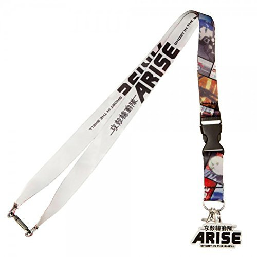 Arise Ghost in the Shell Lanyard with Rubber Charm (Halloween Horror Nights Annual Pass)