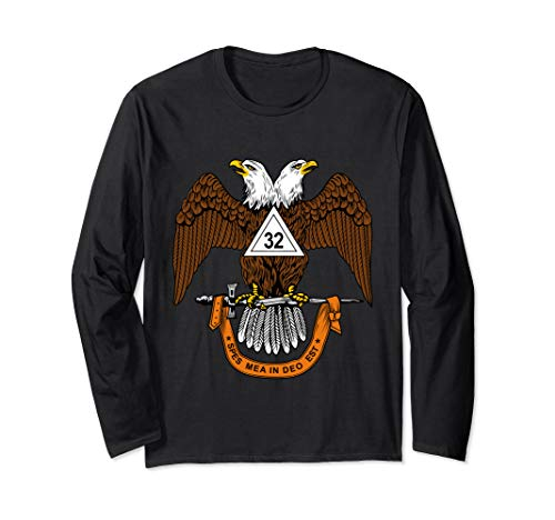 32nd Degree Mason Long Sleeve Shirt Masonic Scottish Rite