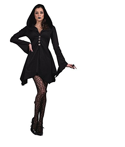 Witches Of Salem Costumes (SR90122 (Large) Hooded Salem Witch Dress)