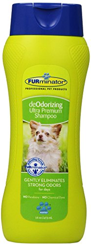Furminator deOdorizing Ultra Premium Shampoo for Dogs (16 oz)