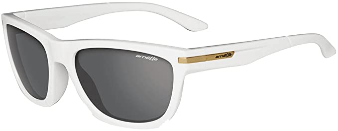 9bb6f7356a Amazon com Arnette Men s Venkman Sunglasses White Frame Grey Lens