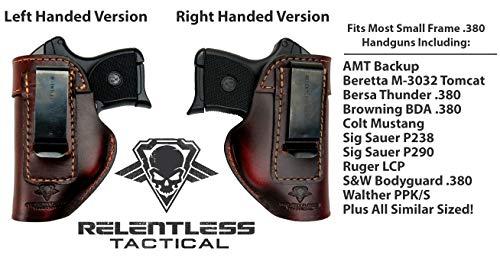CONCEALED Holster Ruger LCP 380 Taurus PT22 PT25 RAVEN Beretta Tomcat #5