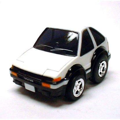 リアルギミックチョロQ RG-Q5 トヨタ スプリンター トレノAE86 (ホワイト&ブラック)