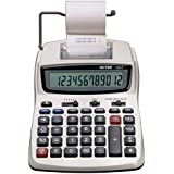 Victor Printing Calculator, 1208-2 Compact and Reliable Adding Machine with Extra Large 12 Digit LCD Display, Automatic Tax Keys, Percent Key, Cost, Sell, and Margin Keys, Environmentally Friendly