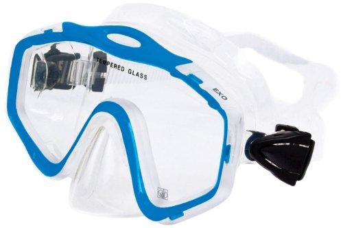 Body Glove Women's EXO Pro Aqua Snorkel Mask (Aqua) ()
