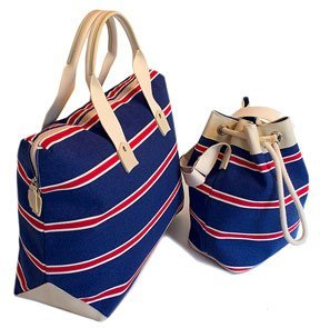 Amazon.com: Floto Amalfi Tote and Sail Bag - luggage set, travel ...