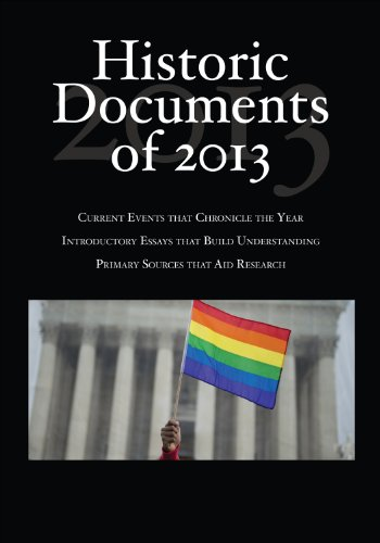 Historic Documents of 2013 (Historic Documents of ....) Pdf
