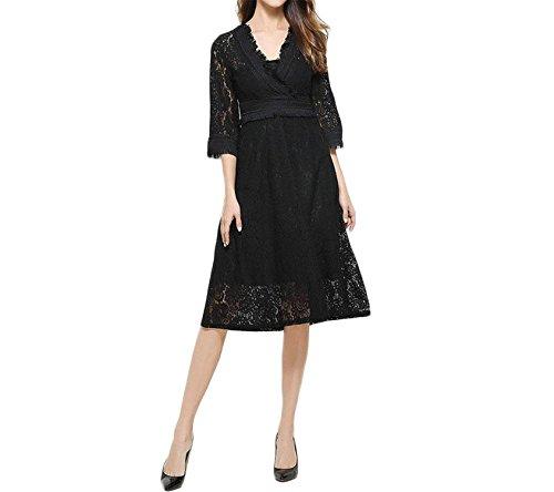 kmart black maxi dress - 2