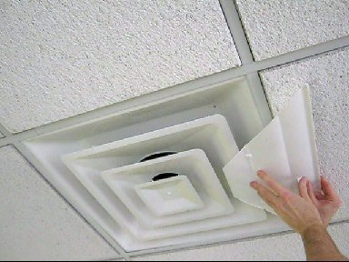 Airvisor Air Deflector For Office Ceiling Vents 24 Quot X 24