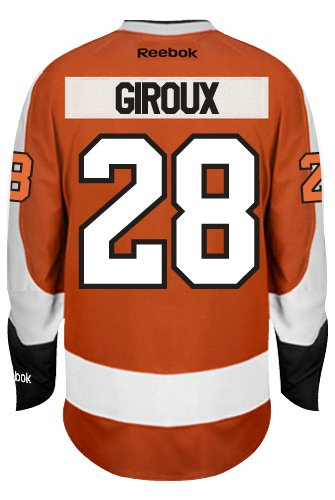 fb53c8ec2 Claude Giroux Philadelphia Flyers Reebok Premier Home Jersey NHL Replica   Amazon.ca  Sports   Outdoors