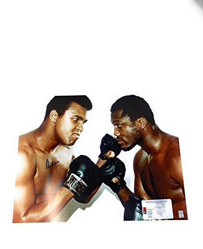 Muhammad Ali Boxing Signed Autograph 16x20 Photo Photograph W Joe Frazier Ali Authentic COA & Hologram ()