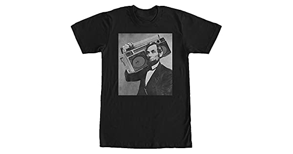 Lost Gods Abe Lincoln Beer Pong Mens Graphic T Shirt