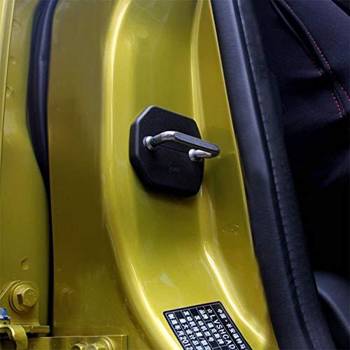 4 St/ück//Set ABS Auto T/ürschloss Schutzabdeckung T/ürschloss Schnalle Fall f/ür Ford Focus 3 4 MK3 ST RS Kuga Escape Fiesta 2012-2016