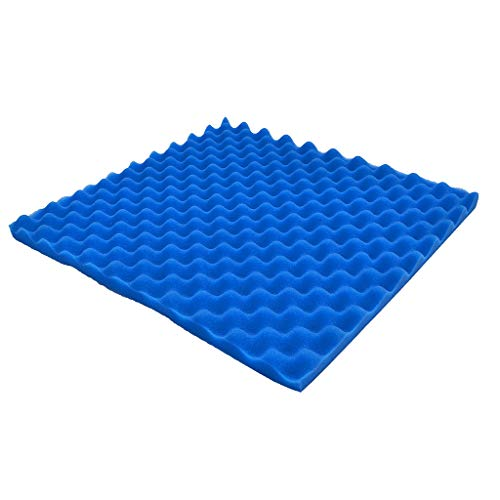 Fine Acoustic Absorption Panel, Acoustic Panels Studio Foam, Soundproofing Panel Sound Stop Absorption Corner Wall in Studios or Home Theater KTV Soundproof (Blue)