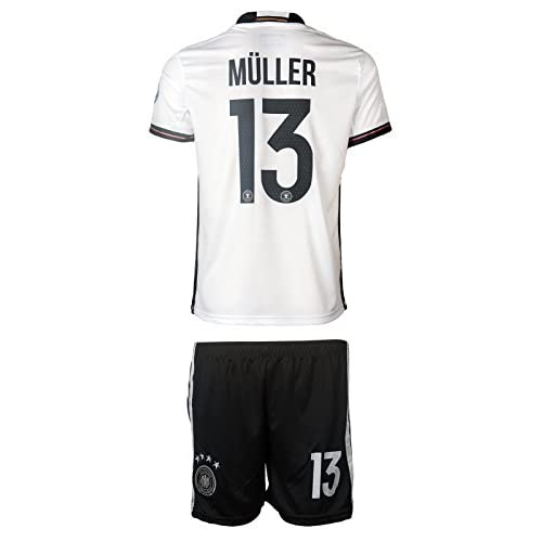 6fe94551116 Germany UEFA Euro 2016 #13 Thomas Müller Home Soccer Kids Jersey & Shorts -  Youth