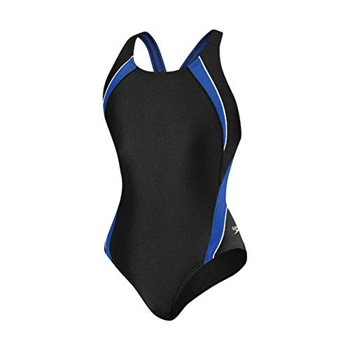 Pour bleu De Fuseau Powerflex Femme Piece Bain Dos Eco One Blanc Pulse Splice Speedo Maillot d6qBTd