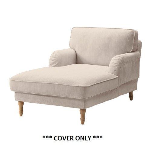IKEA Stocksund - Cubierta para chaise Nolhaga beige de luz ...