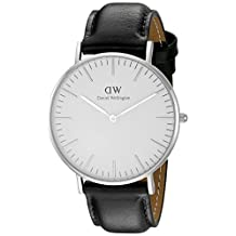 Daniel Wellington Women's 0608DW Sheffield Analog Display Quartz Black Watch