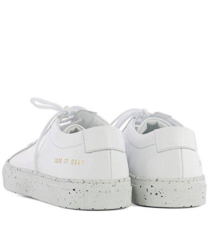 Progetti Comuni Donne 38360547 Sneakers In Pelle Bianca