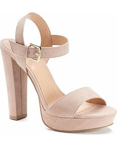Heels High Lauren (Lauren Conrad LC Bow Womens High Heel Sandals)
