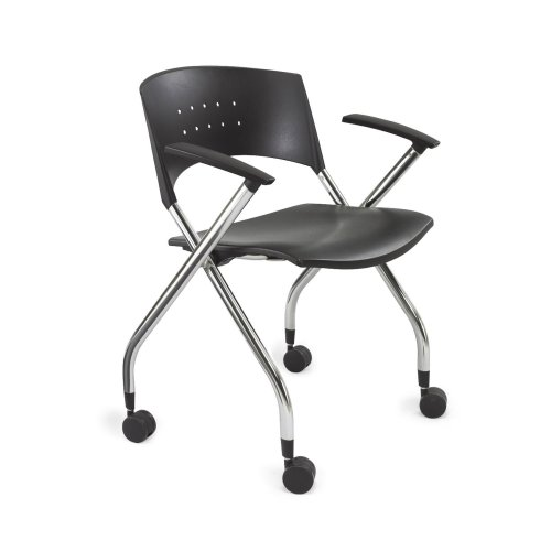 Safco Products xtc. Nesting Chair, Black