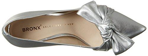 Bronx Bx 1245 Bcotex - Tacones Mujer plateado (silver)