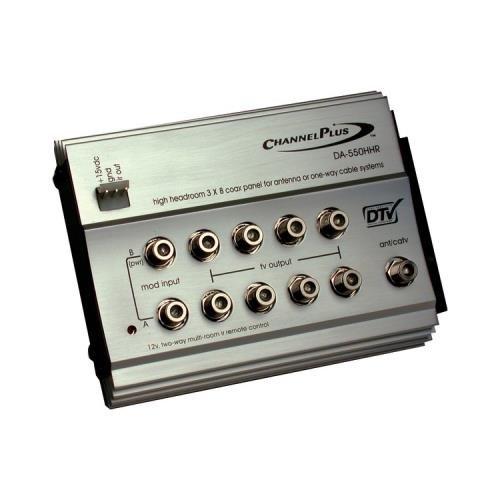 JAYBRAKE Channel Plus Da-550Hhr Hdtv Distribution Panel For Off-Air Antenna