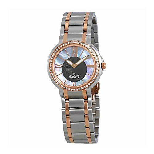 Charmex Crystal Mother of Pearl Dial Ladies Watch 6426
