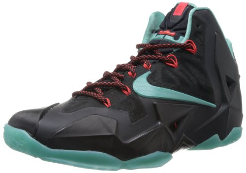 Diffused Nike Crimson Shoe Lebron Men's Black light Basketball XI Jade cr6rYwq4