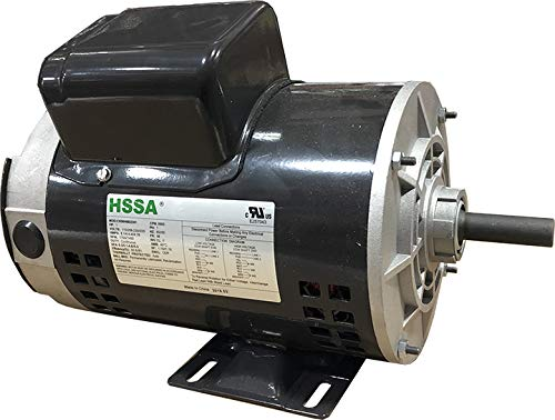 Captive Aire Exhaust/Make Up Air Fan Replacement Motor- 1.00 HP, Single Phase, 115/208-230V, ODP, 1750 RPM, Rigid Base, 56 Frame, Direct Replacement For Part Number 00118OT1BAO56-S48PK.