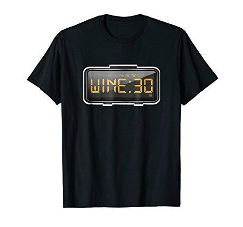 Wine O'clock Tshirt Wine Party Lovers Gift Shirt