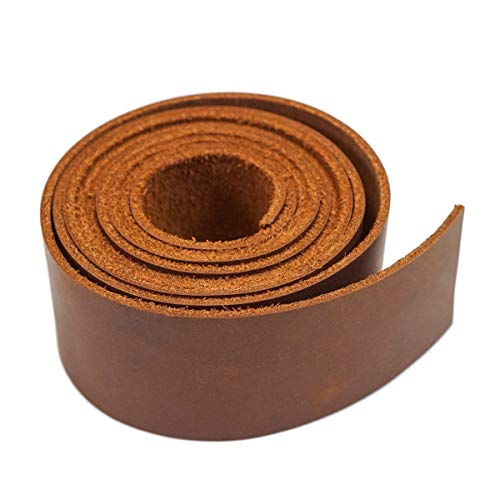 SLCs Leather Oil Tanned Purse/Bag Making Straps (1-1/2x64, Boot Strap)