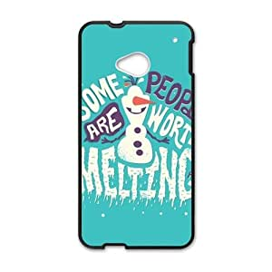 Happy Frozen Snowman Olaf Cell Phone Case for HTC One M7