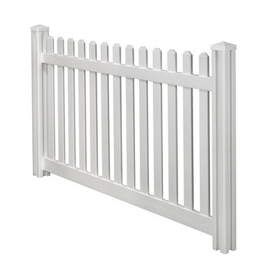 wambam-traditional-4-by-7-feet-premium-classic-vinyl-picket-fence-with-post-and-cap