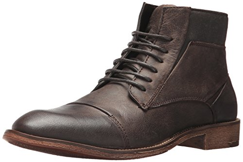 Steve Madden Men's Quibb Chukka Boot, Dark Brown, 9.5 UK/US Size Conversion M US