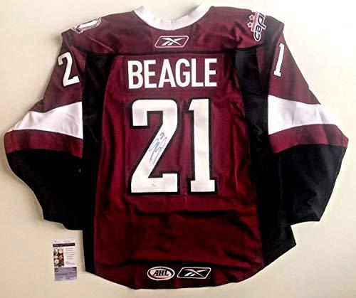 Hershey Bears Jersey Jay Beagle Autographed Signed Reebok On -Ice Size 52 W Patch - JSA Authentic Memorabilia