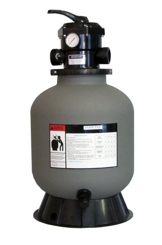 Sand Filter for Above-Ground Swimming Pool - 19 inch diameter used for Clear Swimming Pool Water