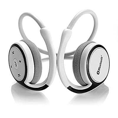Dylan™ Marathon2 Sport Wireless Bluetooth 4.0 Sweat-Proof Headphones/Headsets With Clear Voice Capture Technology and Echo Cancellation Microphone For Running Compatible With iPhone 6 6Plus 5S 5C 5 4S, Galaxy Note 3 2 S5 S4 and Google,Blackberry,LG ,