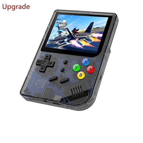 중립 휴대용 게임 콘솔,미니 손으로 개최 게임 플레이어 게임 300 게임 콘솔 RG300 게임 HAND-HELD16G 내부의 3 인치 비디오 게임 콘솔 최고의 선물 TONY 시스템(블랙)