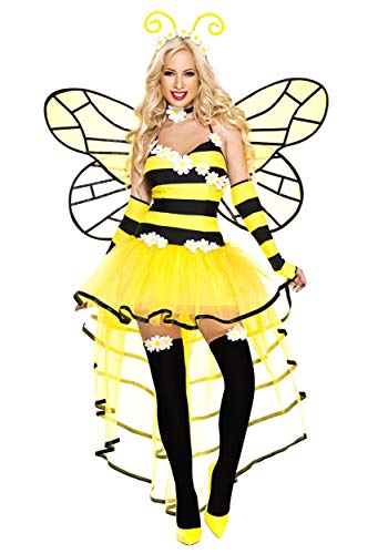 Women's Deluxe Queen Bee Costume - M/L]()