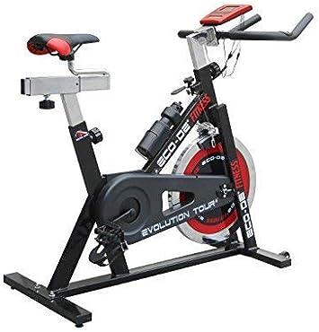 ECO-DE Bicicleta de Spinning Evolution Tour. Uso semiprofesional ...