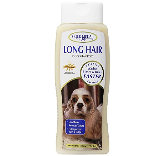 Gold Medal Pets Long Hair Shampoo with Cardoplex for Dogs...