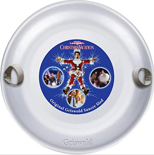 Griswold Aluminum Saucer Sled - Christmas Vacation by Slippery Racer
