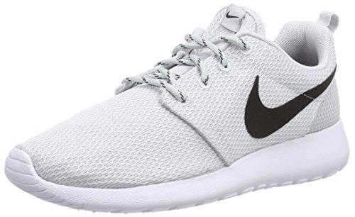 Nike Vrouwen Nike Rosherun Hyp Loopschoen Pure Platinum / Zwart-wit