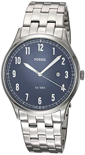 Fossil Men's Forrester - FS5593 Silver One Size