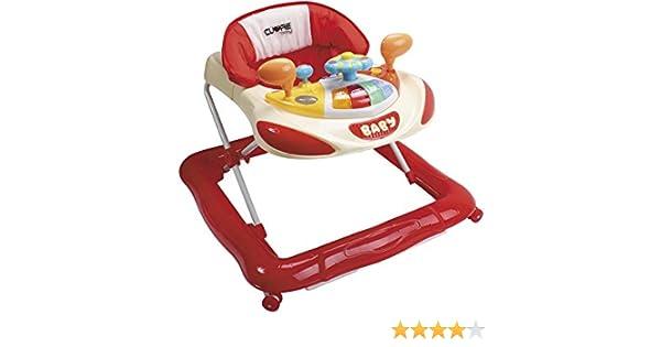 CUORE BABY Andador Rojo Actividades Bebe: Amazon.es: Juguetes y juegos