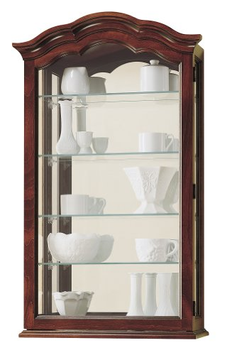 Howard Miller 685-100 Vancouver Curio Cabinet by by Howard Miller